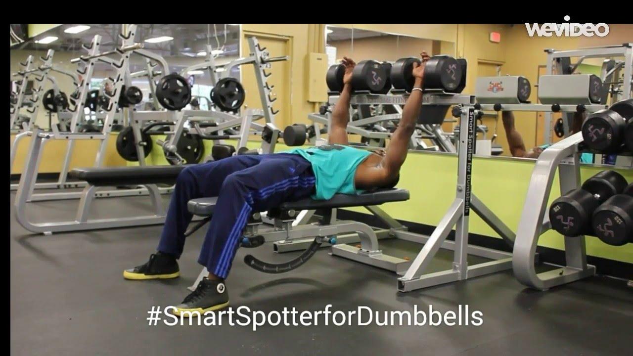 Smart Spotter For Dumbbells Dumbbell Spotter Stand