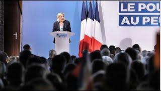 Réunion publique à Richemont (76) : discours de Marine Le Pen