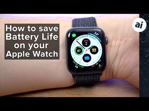 15 tips to improve battery life on Apple Watch
