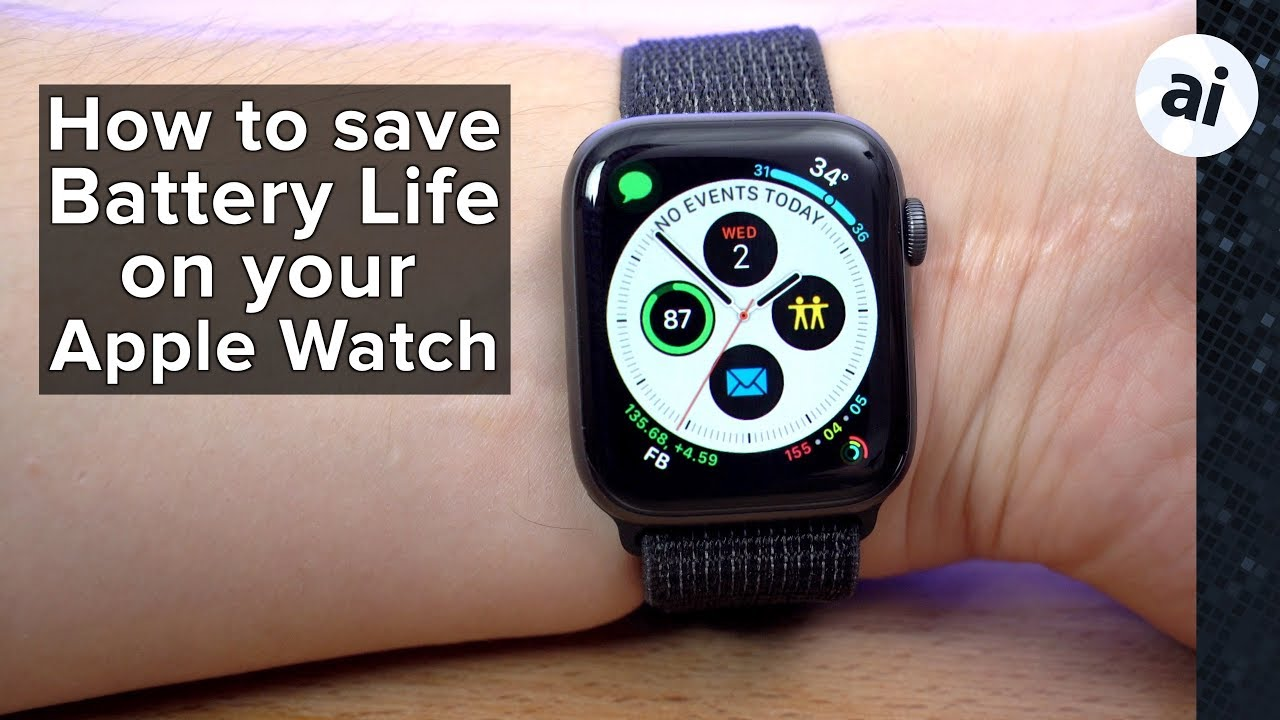 How to extend the battery life on your Apple Watch