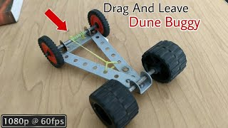 DIY Rubber band Powered Car - How to Make Car with The help of Rubber band