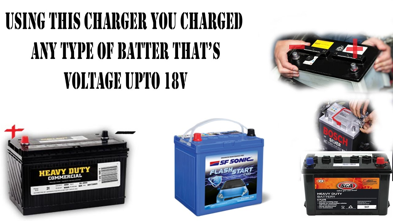 Using Battery Charger To Charge Car Battery