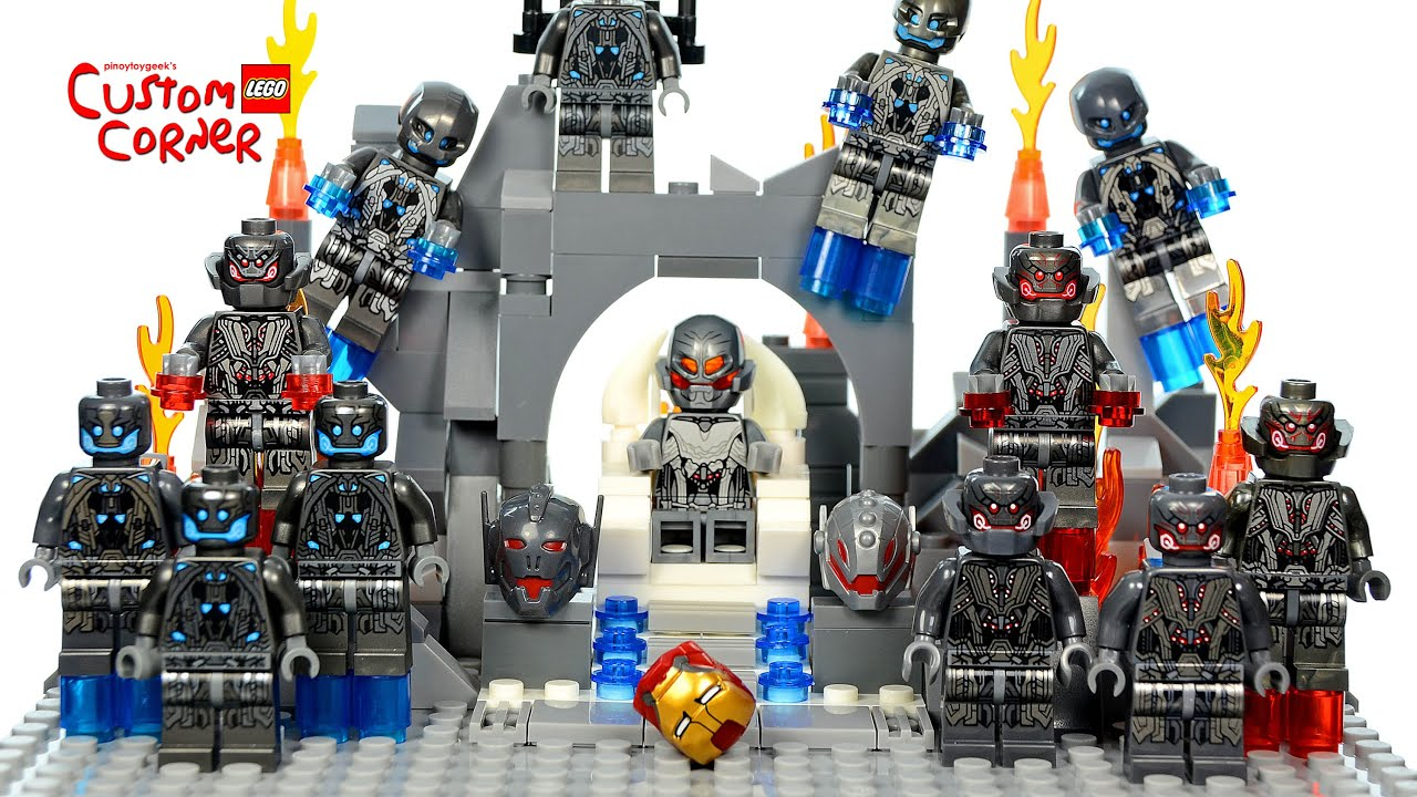 LEGO Avengers: Age of Ultron Inspired by SDCC 2015 Throne ...