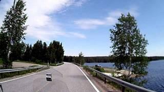 Motorrad in Lappland Finnland (9)