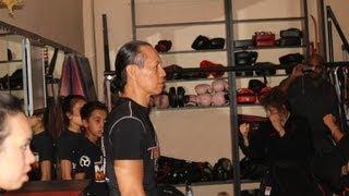 Master Ernie Reyes visits Team Karate Centers