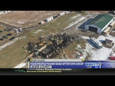 Four found dead after Adair County explosion