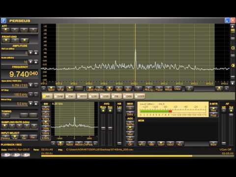 Radio Sultanate of Oman (Oman) 9740.04kHz 4/1/15 01:59~UTC - Station Announcements