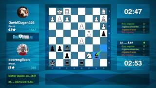 Chess Game Analysis: DavidCugan326 - soaresgilvan : 0-1 (By ChessFriends.com)