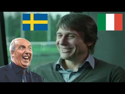 SVEZIA ITALIA - VENTURA INCONTRA CONTE