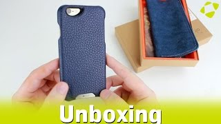 Vaja Grip iPhone 6S / 6 Genuine Leather Case - Unboxing
