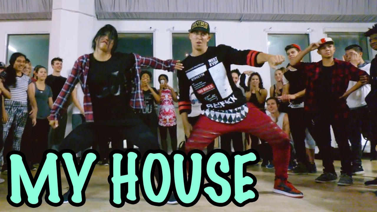 Attractive MY HOUSE Flo Rida Dance @MattSteffanina Choreography Int Hip Hop Class    YouTube