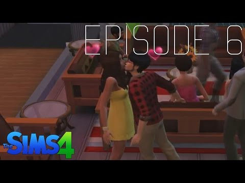 Lets Play Sims 4  E06  FALLING IN LOVE!