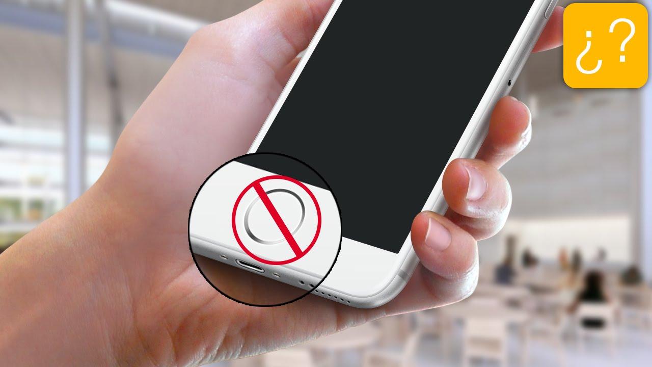 c9fec925d74 Qué hacer si el botón home de tu iPhone no funciona - YouTube