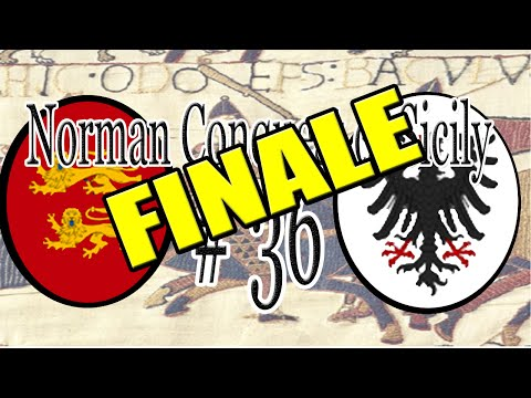 CK2 | The Norman Conquest of Sicily - Part 36 (FINALE)