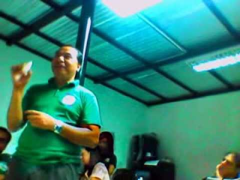 JLEWMachine Speaks In Orientation Meeting of the Cooperative Union of the Philippines