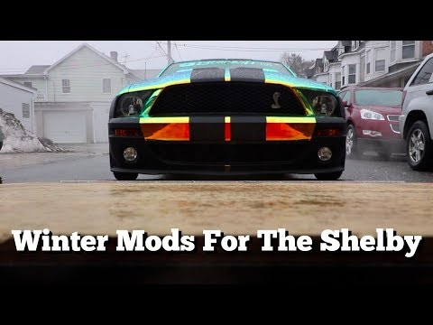 Shelby GT500 Winter 2018 Plans