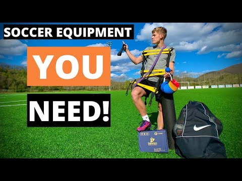 8 Pieces Of Soccer Equipment You Didn't Know YOU Need!