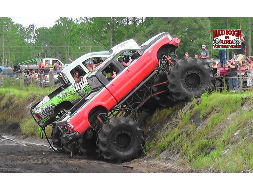 King Krush Monster Truck in All Day Mud Bog Beatin'