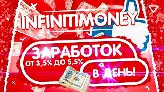 ХОРОШИЙ  ИНВЕСТИЦИОННЫЙ ПРОЕКТ INFINITI MONEY.COM // МОЖНО ЗАРАБОТАТЬ ОТ 3,5%  ДО 5,5% В ДЕНЬ!