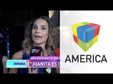 María Vázquez habló del romance de su hermano con Juana Viale