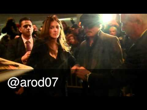 Johnny Depp at The Rum Diary New York City Premiere