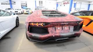 забираем Lamborghini Aventador LP 700