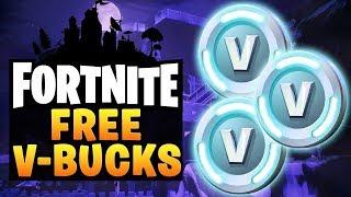 Fortnite FREE V-BUCKS GLITCH    PS4/XBOX ONE/PC