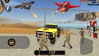 Vegas Crime Simulator - (Transformer Fight Army Man) Army Man Attack Knif - Gameplay HD
