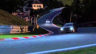 lancer evolution x gsr vs impreza sport wagon sti nurburgring sunset race
