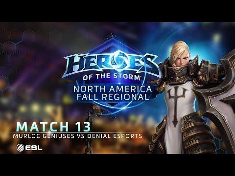 Denial vs Murloc G - NA Fall Regional #2 - G5