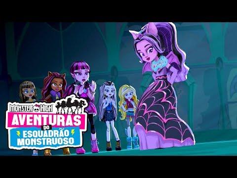Convocando so Monstros | Aventuras do Esquadrão Monstro | Monster High