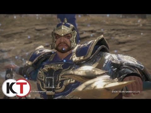 Dynasty Warriors 9 - Cao Ren Character Highlight