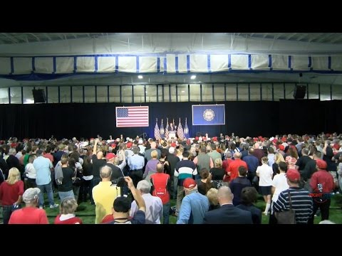 FULL Event: Donald Trump Rally in Bedford, NH 9/29/16