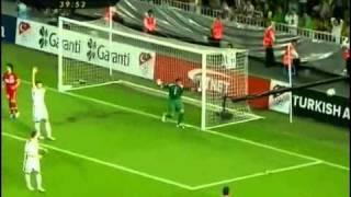 Türkiye 3 2 Belçika EURO 2012  07 09 2010 Full Genis Ozeti