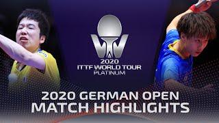 Jun Mizutani Vs Lin Gaoyuan  2020  TTF German Open Highlights 14