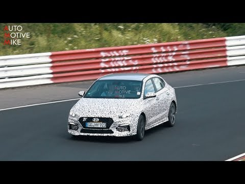 2019 HYUNDAI I30 N FASTBACK SPIED TESTING AT THE NÃœRBURGRING