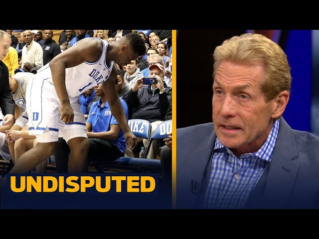 Skip Bayless urges Zion Williamson to shut it down at Duke & wait for NBA Draft | CBB | UNDISPUTED