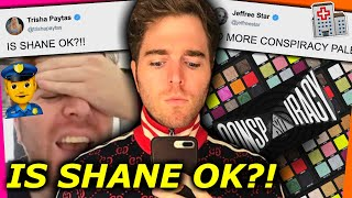 RUMOURS THAT SHANE DAWSON IS IN H0SPITAL? + JEFFREE DROPS SHANE'S CONSPIRACY PALETTE!