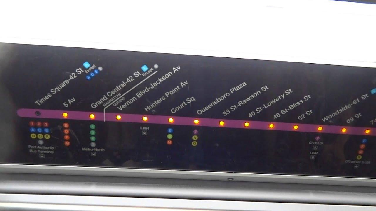 7 Subway Map