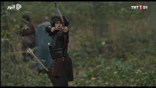 مشهد قتال عثمان بن أرطغرل ضد الصليبيين ... قيامة أرطغرل الحلقة 122 مترجمة للعربية