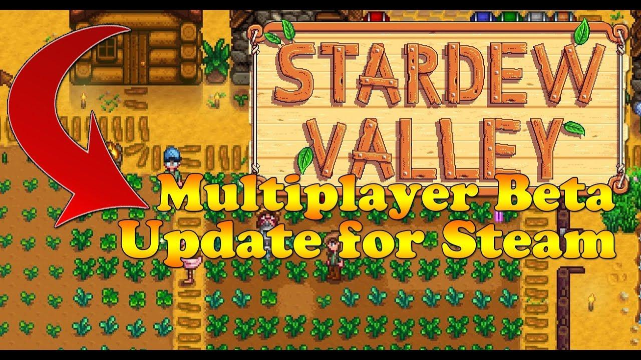 Stardew Valley Multiplayer UPDATE! - Steam BETA NEWS!