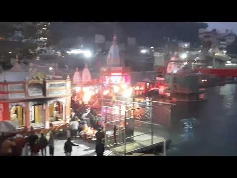 Ganga Aarti on Ekadashi.... an excellent and complete view at Hari ki Paudi