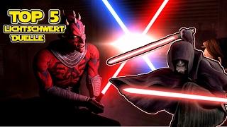 Star Wars The Clone Wars: Top 5 Lichtschwert Duelle - Die Besten Lichtschwertkämpfe aus Clone Wars