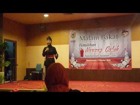 Malam Bakat Pemilihan Nanang Galuh Kalimantan Selatan 2016