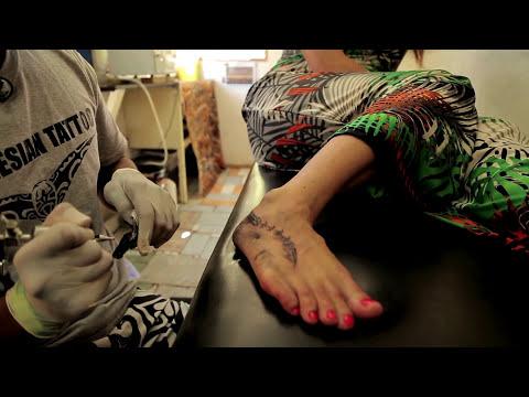Cook Island Tātatau Tattoo