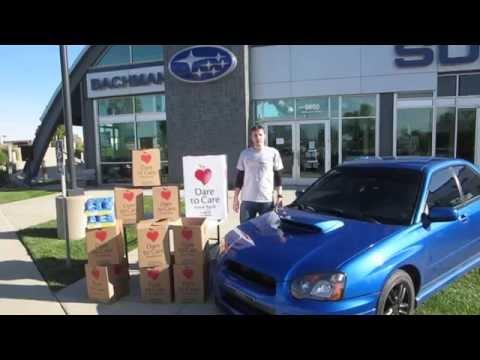 Bachman Subaru Drive Away Hunger Car Show 2014