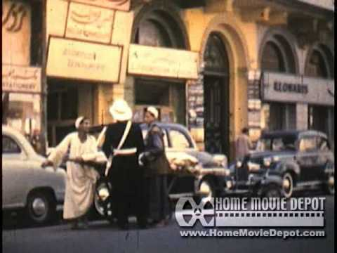 1961 Trip #1  to Athens, Cairo, Bangkok