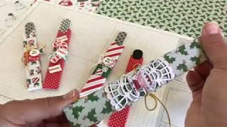 Nail File Boxes featuring Santa's Workshop by Stampin' Up - 2018 Holiday Catalog