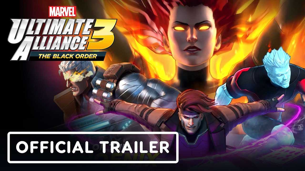Marvel's Ultimate Alliance 3: X-Men Rise of the Phoenix Official Trailer | The Game Awards 2019