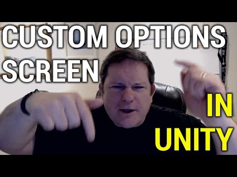 Custom Quality and Resolution Screen in Unity
